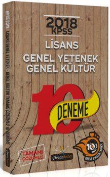 Beyaz Kalem Yayınları KPSS Genel Yetenek Genel Kültür Tamamı Çözümlü 10 Deneme