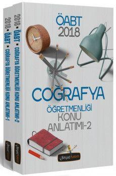 Beyaz Kalem Yayınları 2018 ÖABT Coğrafya Öğretmenliği Konu Anlatımı 2 Kitap