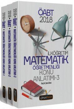 Beyaz Kalem Yayınları 2018 ÖABT İlköğretim Matematik Öğretmenliği Konu Anlatımı Modüler Set