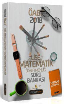 Beyaz Kalem Yayınları 2018 ÖABT Lise Matematik Öğretmenliği Tamamı Çözümlü Soru Bankası