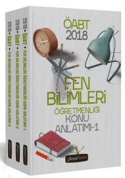 Beyaz Kalem Yayınları 2018 ÖABT Fen Bilimleri Öğretmenliği Konu Anlatımı Modüler Set