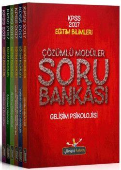 Beyaz Kalem Yayınları 2017 KPSS Eğitim Bilimleri Modüler Soru Bankası Seti