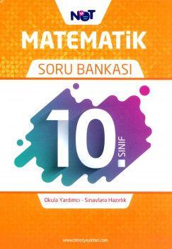 Bi Not Yayınları 10. Sınıf Matematik Soru Bankası