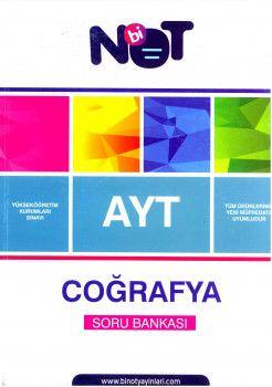 Bi Not Yayınları AYT Coğrafya Soru Bankası