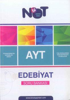 Bi Not Yayınları AYT Edebiyat  Soru Bankası