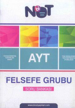 Bi Not Yayınları AYT Felsefe Grubu Soru Bankası