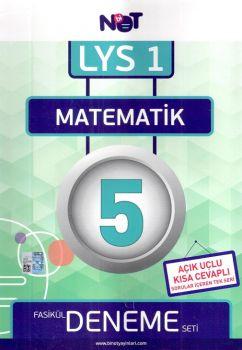 Bi Not Yayınları LYS 1 Matematik Fasikül 5 Deneme Seti