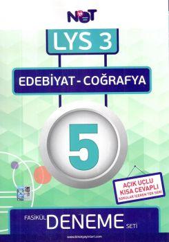 Bi Not Yayınları LYS 3 Edebiyat Coğrafya Fasikül 5 Deneme Seti