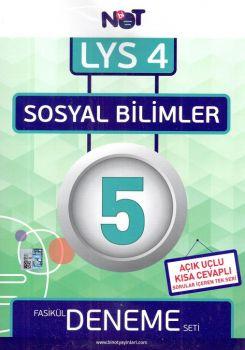 Bi Not Yayınları LYS 4 Sosyal Bilimler Fasikül 5 Deneme Seti