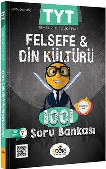 BiDers Yayıncılık TYT Felsefe Grubu ve Din Kültürü 1001 Soru Bankası