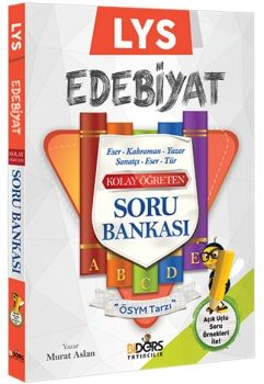 BiDers Yayıncılık LYS Edebiyat Kolay Öğreten Soru Bankası