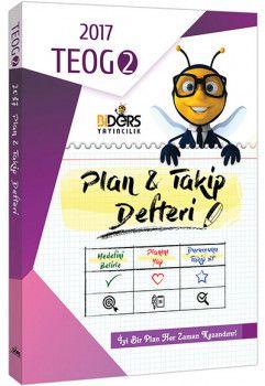 BiDers Yayıncılık 8. Sınıf TEOG 2 Plan Takip Defteri