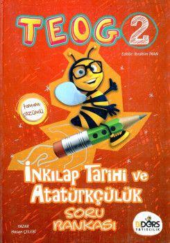BiDers Yayınları 8. Sınıf TEOG 2 T.C. İnkılap Tarihi ve Atatürkçülük Tamamı Çözümlü Soru Bankası
