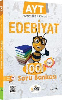 BiDers Yayınları AYT Edebiyat 1001 Soru Bankası
