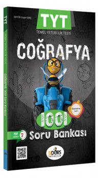 BiDers Yayınları TYT Coğrafya Karekod Çözümlü 1001 Soru Bankası