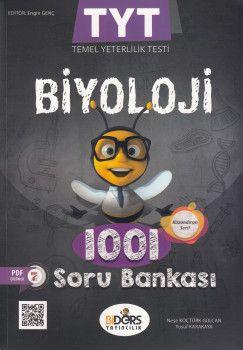 BiDers Yayınları TYT Biyoloji Karekod Çözümlü 1001 Soru Bankası