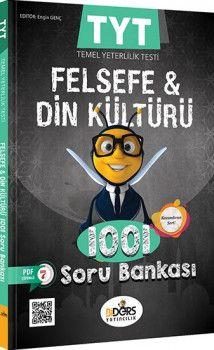 BiDers Yayınları TYT Felsefe Grubu ve Din Kültürü 1001 Soru Bankası