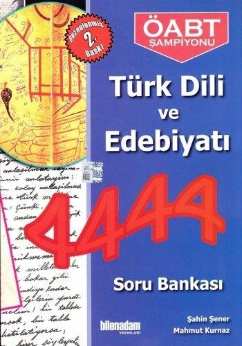 Bilen Adam ÖABT Türk Dili ve Edebiyatı 4444 Soru Bankası