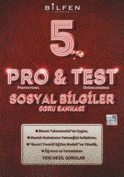 Bilfen Yayıncılık 5. Sınıf Sosyal Bilgiler ProTest Soru Bankası