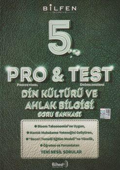 Bilfen Yayıncılık 5. Sınıf Din Kültürü ve Ahlak Bilgisi ProTest Soru Bankası