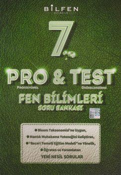 Bilfen Yayıncılık 7. Sınıf Fen Bilimleri ProTest Soru Bankası