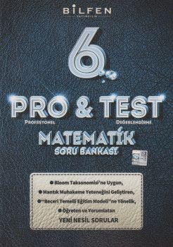 Bilfen Yayıncılık 6. Sınıf Matematik ProTest Soru Bankası