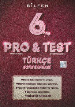 Bilfen Yayıncılık 6. Sınıf Türkçe ProTest Soru Bankası