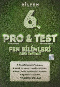 Bilfen Yayıncılık 6. Sınıf Fen Bilimleri ProTest Soru Bankası