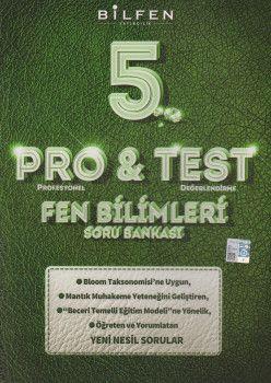 Bilfen Yayıncılık 5. Sınıf Fen Bilimleri ProTest Soru Bankası