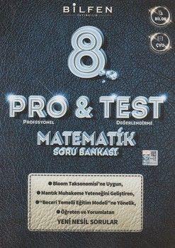Bilfen Yayıncılık 8. Sınıf Matematik ProTest Soru Bankası