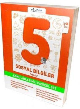 Bilfen Yayıncılık 5. Sınıf Sosyal Bilgiler Konu Anlatımlı Fasikül Set