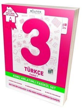 Bilfen Yayıncılık 3. Sınıf Türkçe Konu Anlatımlı Fasikül Set