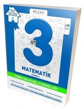 Bilfen Yayıncılık 3. Sınıf Matematik Konu Anlatımlı Fasikül Set