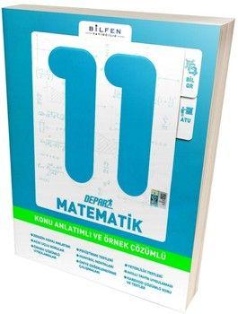Bilfen Yayınları 11. Sınıf Matematik Depar Konu Anlatımlı ve Örnek Çözümlü