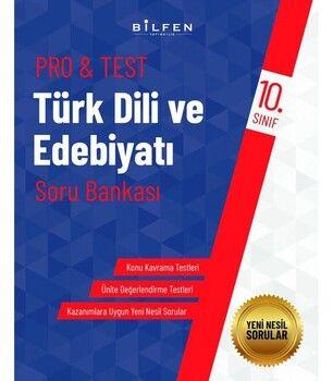 Bilfen Yayınları 10. Sınıf Türk Dili ve Edebiyat Protest Soru Bankası