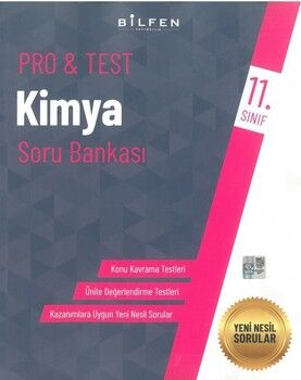 Bilfen Yayınları 11. Sınıf Kimya Protest Soru Bankası