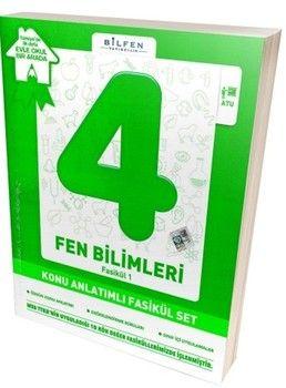 Bilfen Yayınları 4. Sınıf Fen Bilimleri Konu Anlatımlı Fasikül Set