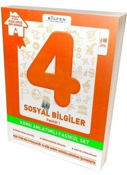 Bilfen Yayınları 4. Sınıf Sosyal Bilgiler Konu Anlatımlı Fasikül Set