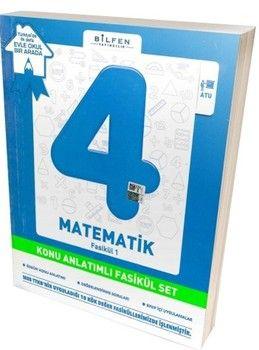 Bilfen Yayınları 4. Sınıf Matematik Konu Anlatımlı Fasikül Set