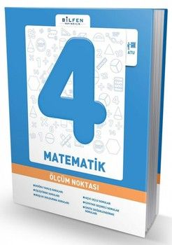 Bilfen Yayınları 4. Sınıf Matematik Ölçüm Noktası