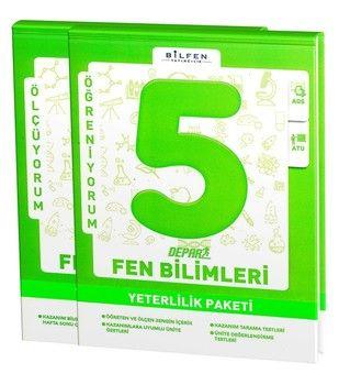 Bilfen Yayınları 5. Sınıf Fen Bilimleri Depar Yeterlilik Paketi