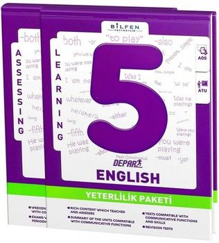 Bilfen Yayınları 5. Sınıf İngilizce Depar Yeterlilik Paketi