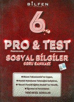 Bilfen Yayınları 6. Sınıf Sosyal Bilgiler ProTest Soru Bankası