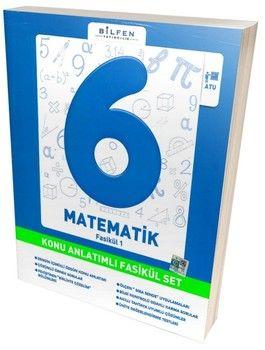 Bilfen Yayınları 6. Sınıf Matematik Konu Anlatımlı Fasikül Set