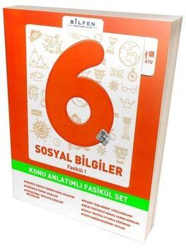 Bilfen Yayınları 6. Sınıf Sosyal Bilgiler Konu Anlatımlı Fasikül Set