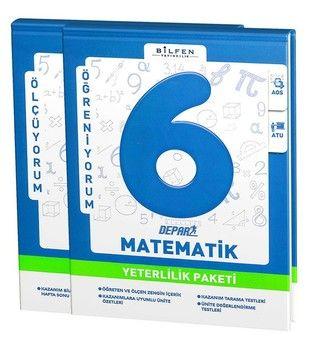Bilfen Yayınları 6. Sınıf Matematik Depar Yeterlilik Paketi