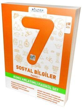 Bilfen Yayınları 7. Sınıf Sosyal Bilgiler Konu Anlatımlı Fasikül Set