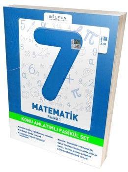 Bilfen Yayınları 7. Sınıf Matematik Konu Anlatımlı Fasikül Set