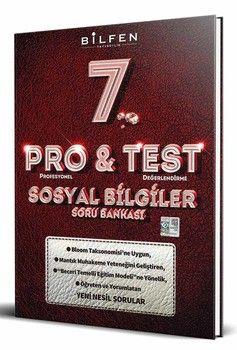 Bilfen Yayınları 7. Sınıf Sosyal Bilgiler ProTest Soru Bankası