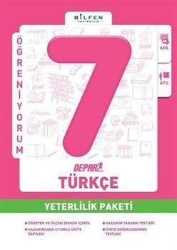 Bilfen Yayınları 7. Sınıf Türkçe Depar Yeterlilik Paketi
